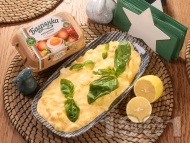 Яйчена салата с майонеза, горчица, босилек и яйца Багрянка